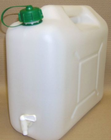 20 LTS  WATER CAN WITH TAP TOP FILL FOR CAMPING
